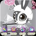 Skip Bunny Postal Parcel _ADW logo