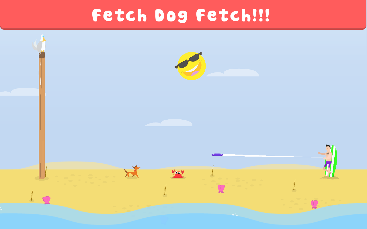 Fetch Dog Fetch!- screenshot