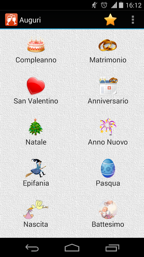 Auguri per ogni occasione - screenshot