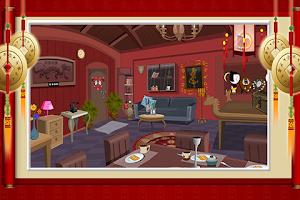 Screenshot of Dragon House Escape