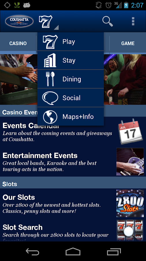 Coushatta Casino Resort - screenshot