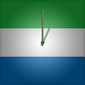Sierra Leone Clock icon