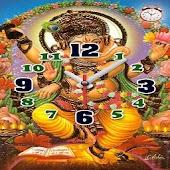 India Gods Clock Alarm LWP