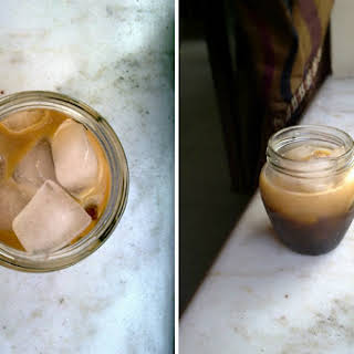 Easy Peasy Instant Iced Coffee.