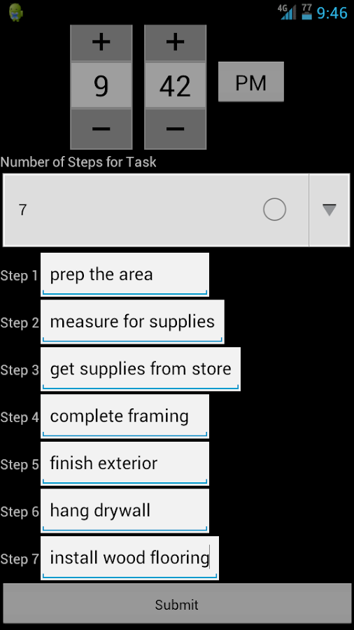 To Do List Task Manager Notes- screenshot