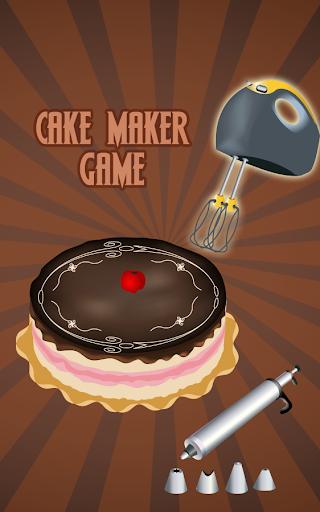 蛋糕制作游戏