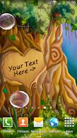 Screenshot of Tree of Love Live Wallpaper