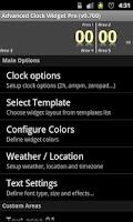 Screenshot of Advanced Clock Widget