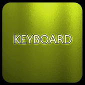 Yellow Glass Keyboard Skin