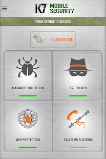 K7 Mobile Security - náhled