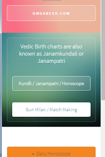 Hindu panchang Matchmaking