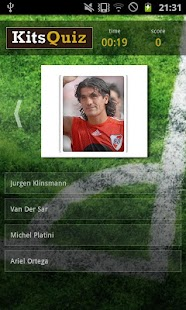 Legendary Footballers Quiz - screenshot thumbnail