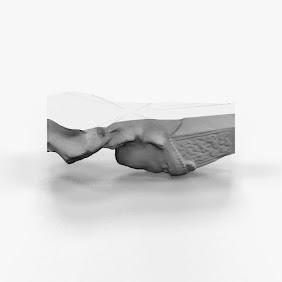 Artistic Crwoned SCulpture 3DPrint