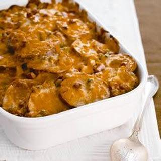 Easy Cheesy Scalloped Potatoes.