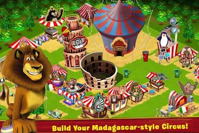 Madagascar -- Join the Circus! Screenshot 1