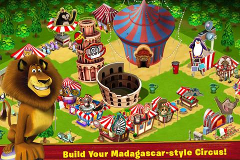 Madagascar -- Join the Circus!: captura de tela