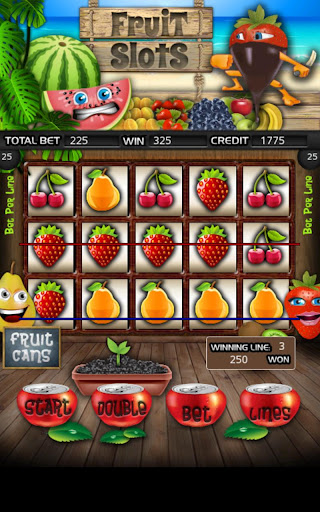 Fruit Cocktail Slot Machine HD Screen Capture 1