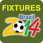 Football WorldCup 2014 Fixture