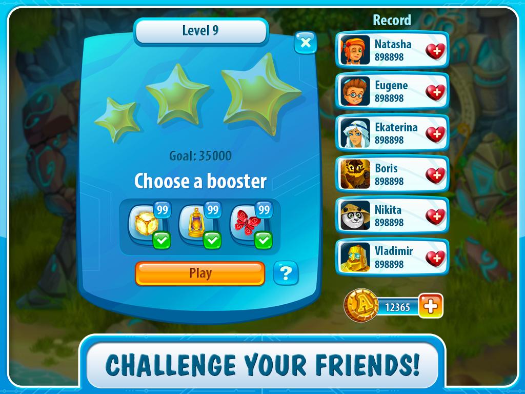 Atlantis Adventure: match - 3 - screenshot