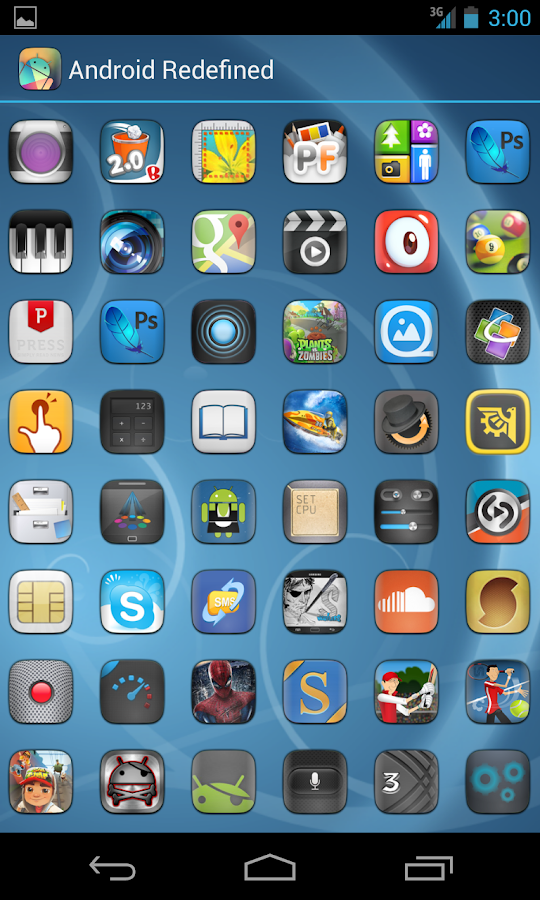 ELEGANCE APEX NOVA GO THEME - screenshot