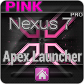 Pink Nexus 7 Apex Theme