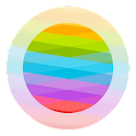 Blurred Circled Icons Light HD icon