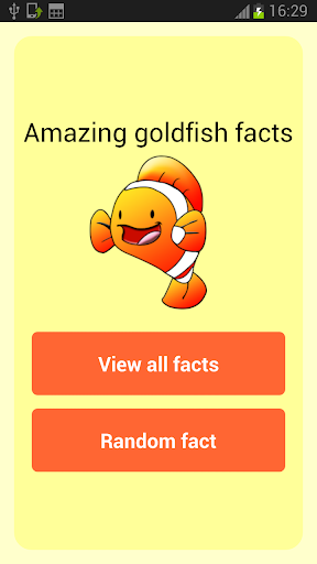 Amazing Goldfish Facts
