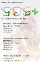 Screenshot of Check-in Casamento
