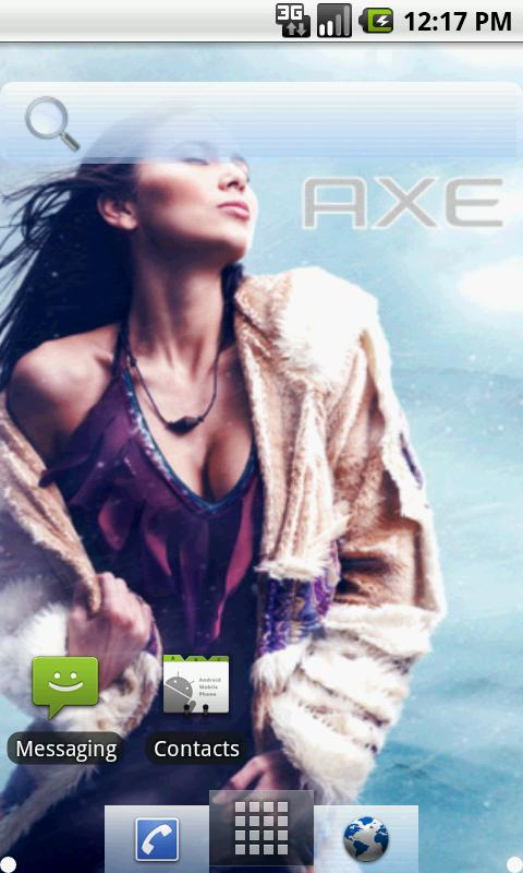 Axe Angel Eskimo Theme - screenshot