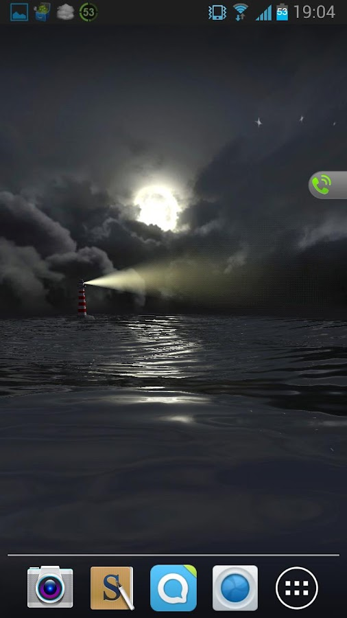 Lighthouse Live Wallpaper - screenshot
