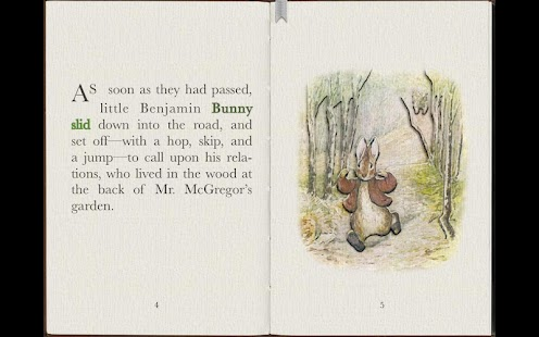 PopOut! Tale of Benjamin Bunny- screenshot thumbnail