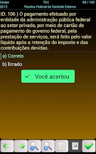 PCF0006 TCU Concurso Fácil - screenshot thumbnail