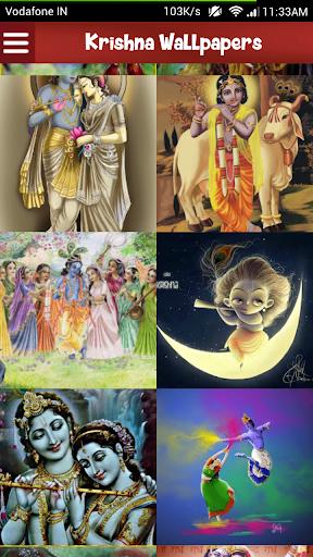 Shri Krishna's Art Wallpapers