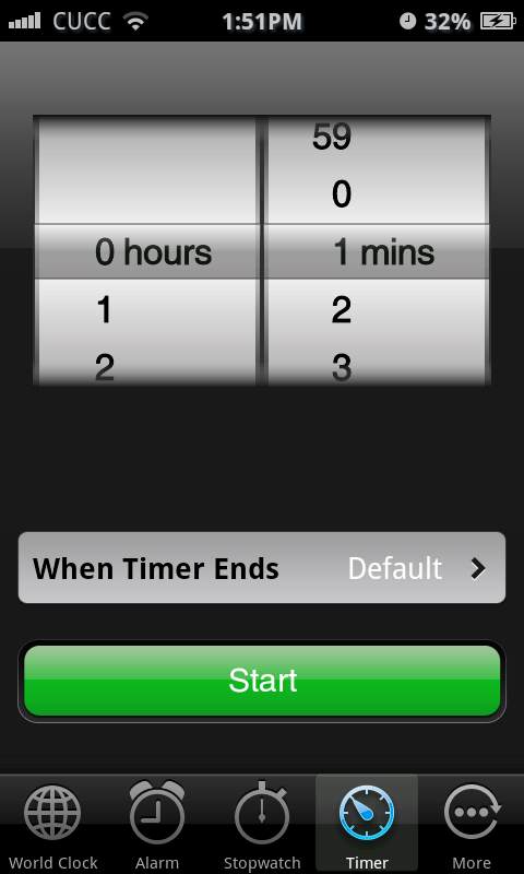 Espier Clock - screenshot