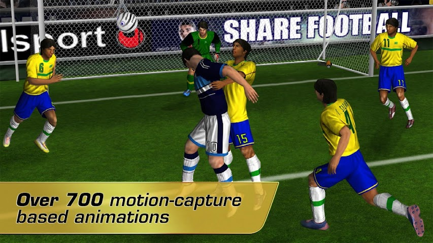 Screenshot 2 Real Soccer 2012