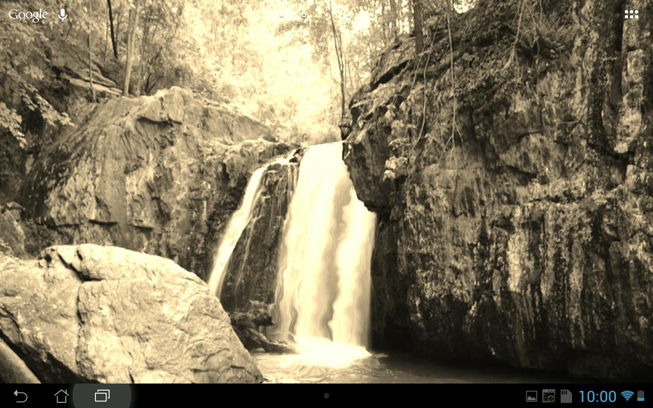 Real Water Fall Live Wallpaper - screenshot