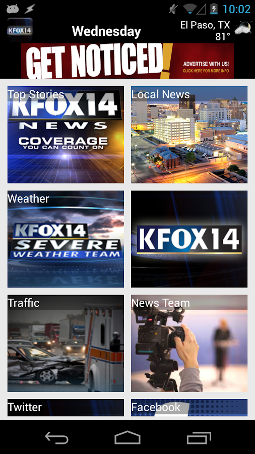 KFOX - screenshot