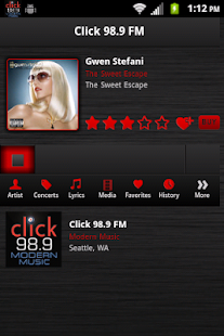 Click 98.9 - screenshot thumbnail