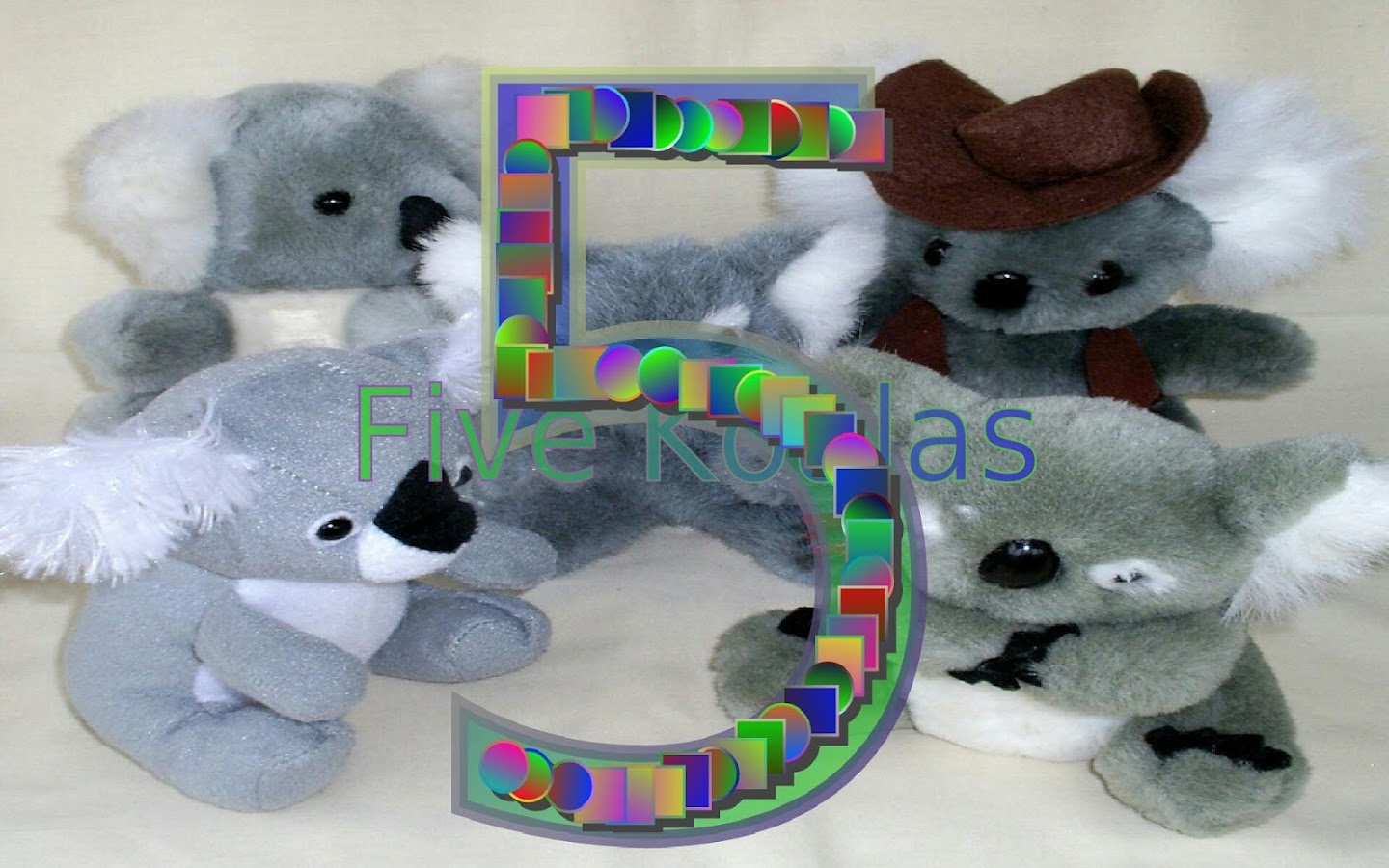 Count Soft Toys 1-10- screenshot