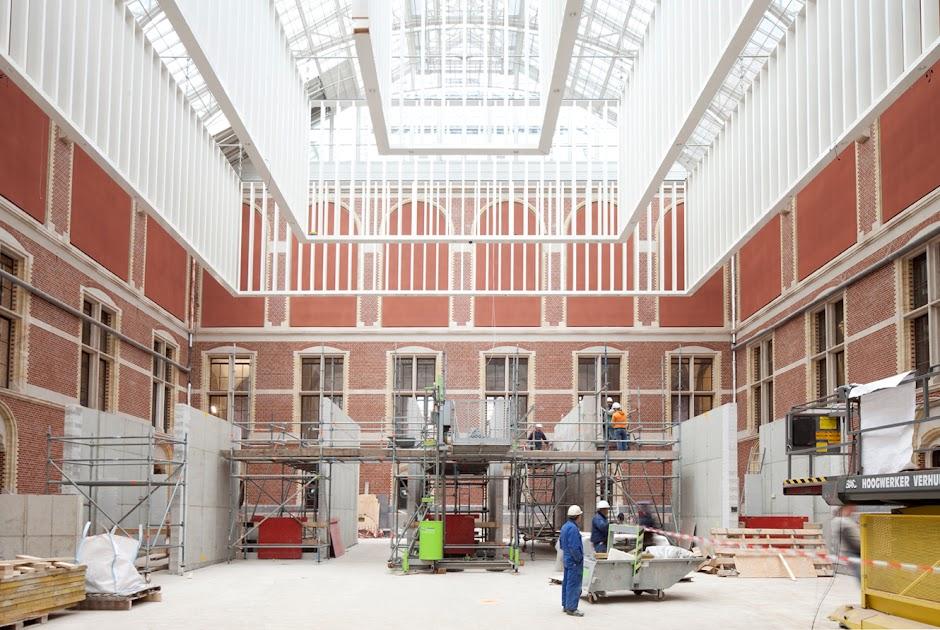 Over de verbouwing verbouwing rijksmuseum