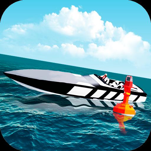 Motor Boat Parking 3D 賽車遊戲 LOGO-阿達玩APP