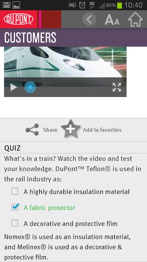 DuPont EMEA News - screenshot