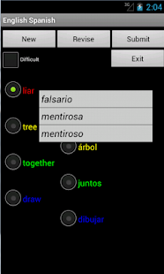 English Spanish Tutor- screenshot thumbnail