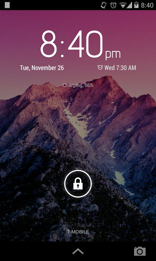 Clean Widgets - screenshot