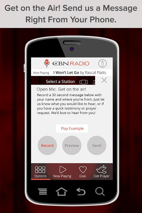CBN Radio- screenshot