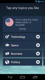 News360: Personalized News Screenshot 2