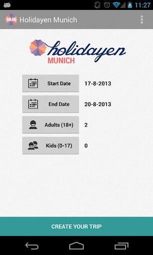 Holidayen Munich