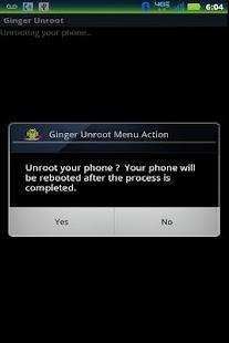 Ginger Unroot- screenshot thumbnail