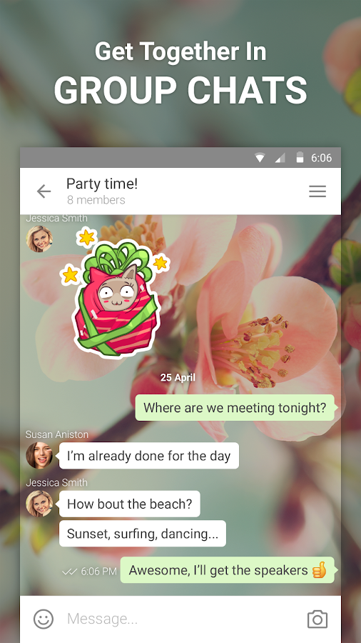 ICQ Messenger - screenshot