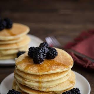 Einkorn Ricotta Pancakes.